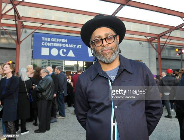 Artist Arthur Jafa attends MOCA's Leadership Circle and Members' Opening of 'Carl Andre Sculpture as Place 19582010' and 'Arthur Jafa Love Is The...