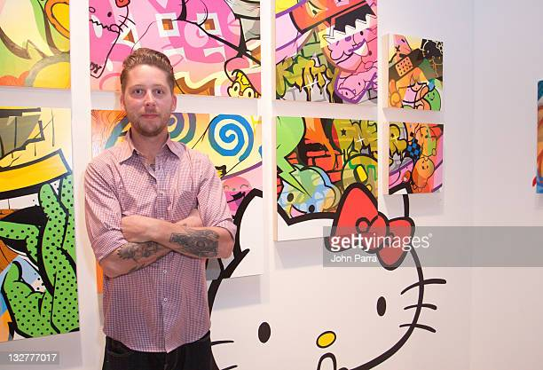 A artist attends Sanrio Small Gift Miami at Art Basel on December 3 2010 in Miami Florida