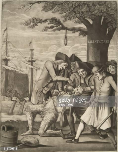 Artist, attributed to: Philip Dawe, British, ca. 1750–ca. 1790, Publisher: Robert Sayer, British, 1725–1794, Publisher: James M. Bennett, American,...