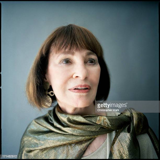 Artist, author, actress, heiress, and socialite Gloria Vanderbilt is photographed for Self Assignment on June 20, 2013 in Toronto, Ontario.