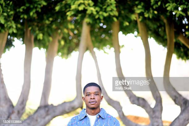 Artist Barrington Darius is photographed for Los Angeles Times on June 14, 2021 in Culver City, California. PUBLISHED IMAGE. CREDIT MUST READ: Wally...