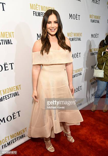 Artist Beau Dunn attends Moet Chandon Celebrates The 2nd Annual Moet Moment Film Festival and Kicks off Golden Globes Week at Doheny Room on January...