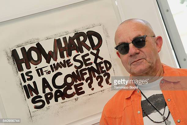 Artist Bernie Taupin attends Kevin O'Leary's Photo Exhibit Irreconcilable Images at Timothy Yarger Fine Art Inc on June 17 2016 in Beverly Hills...