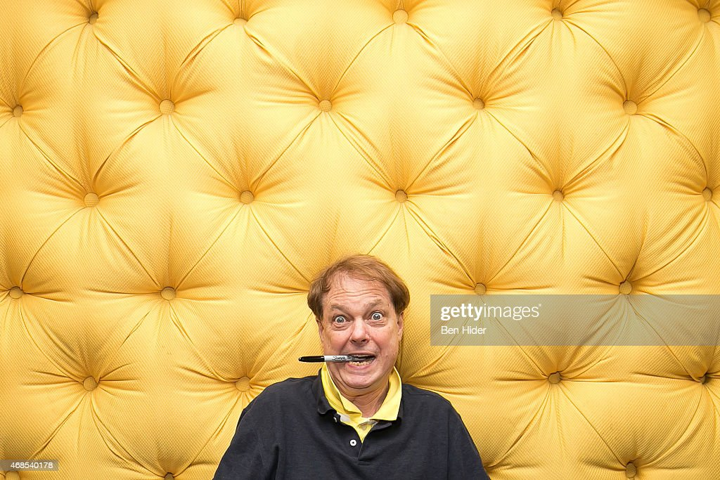 Artist Bill Plympton attends the 'Cheatin' New York Premiere at Village East Cinema on April 3, 2015 in New York City.