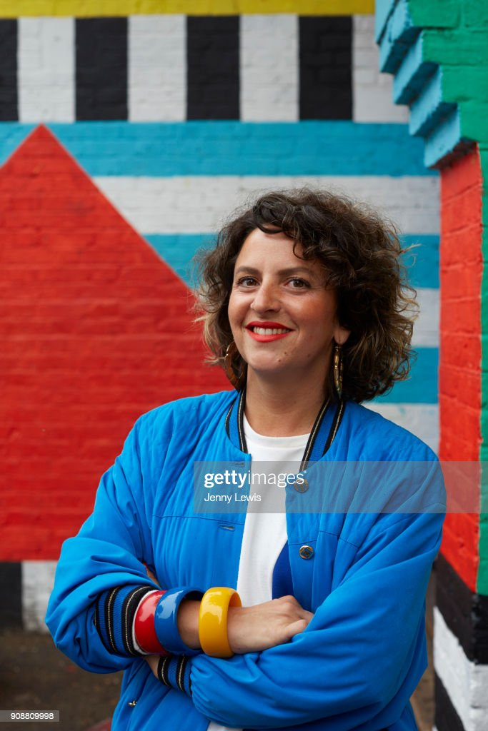 Camille Walala, Oh Comely magazine UK, December 1, 2017 : News Photo