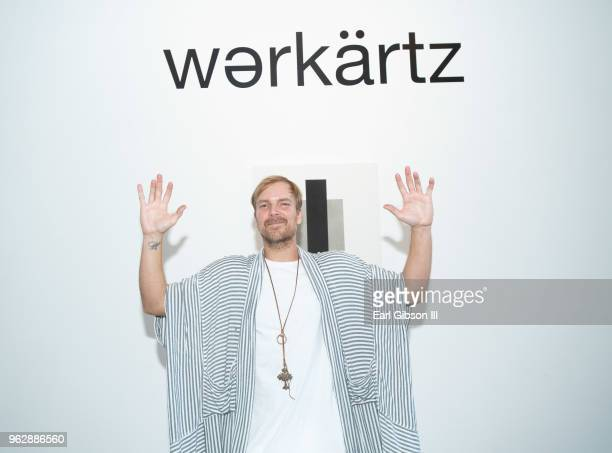 Artist Chad Muska attends the opening of his show MONOLITHIC at WERKARTZ on May 26, 2018 in Los Angeles, California.