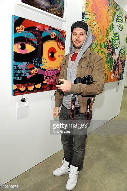 Artist Chase attends the Art of Elysium's Artists Preview held at Siren Studios on February 22 2011 in Hollywood California