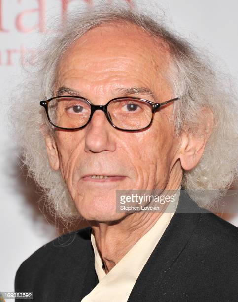 Artist Christo attends The 2013 Frederic E Church Award Gala at New York Public Library on May 23 2013 in New York City