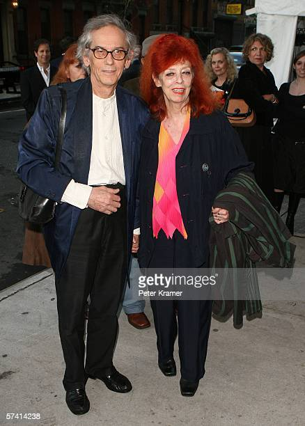 Artist Christo Claude and wife Jeanne Claude attend the Body Soul celebration of the NFAA 2006 art winners at Baryshnikov Arts Center on April 24...