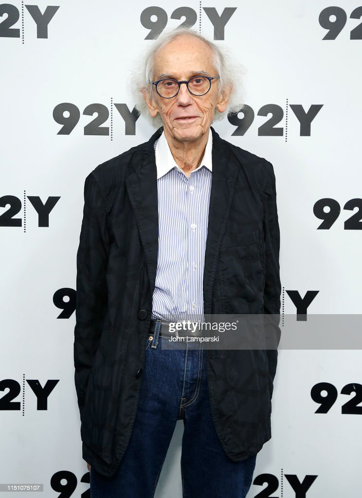 NY: Artist Christo In Conversation With Amei Wallach