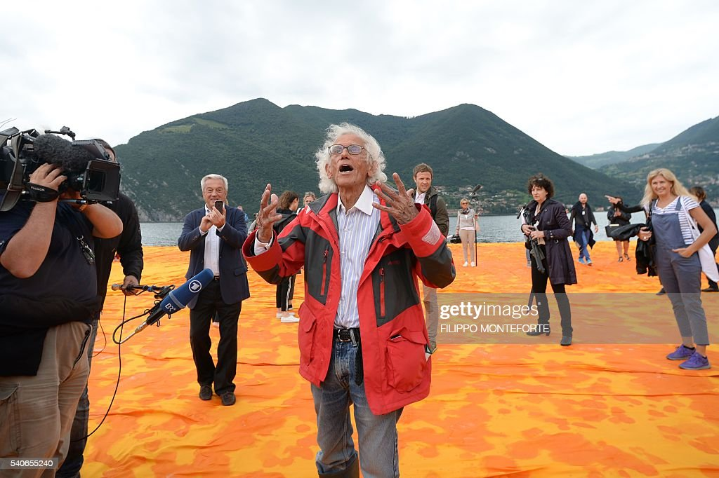 ITALY-ART-CHRISTO-ISEO-FLOATING PIERS : Photo d'actualité
