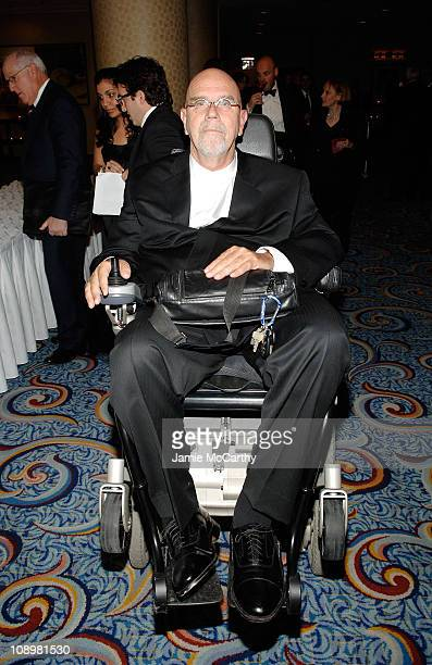 Artist Chuck Close attends the 18th Annual 'A Magical Evening Gala' hosted by the Christopher & Dana Reeve Foundation at the Marriott Marquis on...
