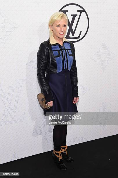 Artist Cindy Sherman attends Louis Vuitton Monogram celebration at Museum of Modern Art on November 7 2014 in New York City
