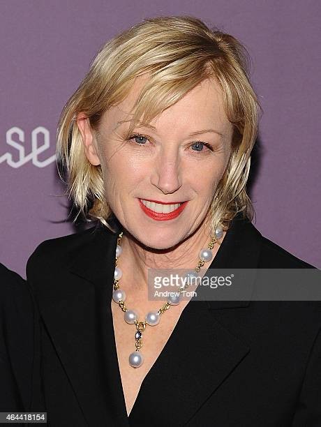 Artist Cindy Sherman attends The Jewish Museum's Purim Ball 2015 at the Park Avenue Armory on February 25 2015 in New York City