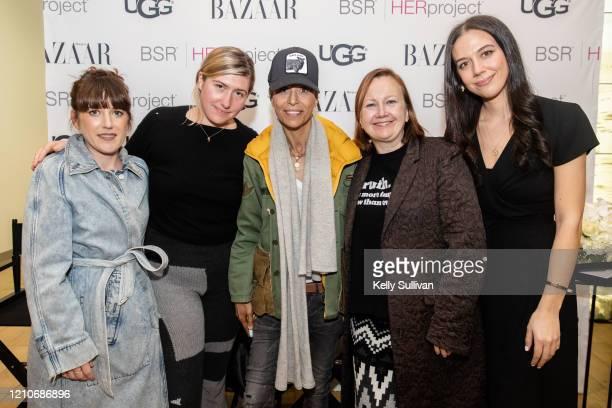 Artist Claire Tabouret Designer Zoe Latta Chef Dominique Crenn UGG Brand President Andrea O'Donnell and Harper's Bazaar Fashion Accessories Editor...