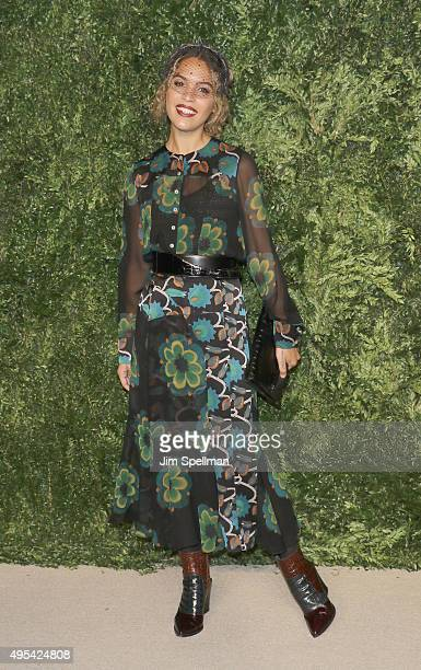 Artist Cleo Wade attends the 12th annual CFDA/Vogue Fashion Fund Awards at Spring Studios on November 2 2015 in New York City