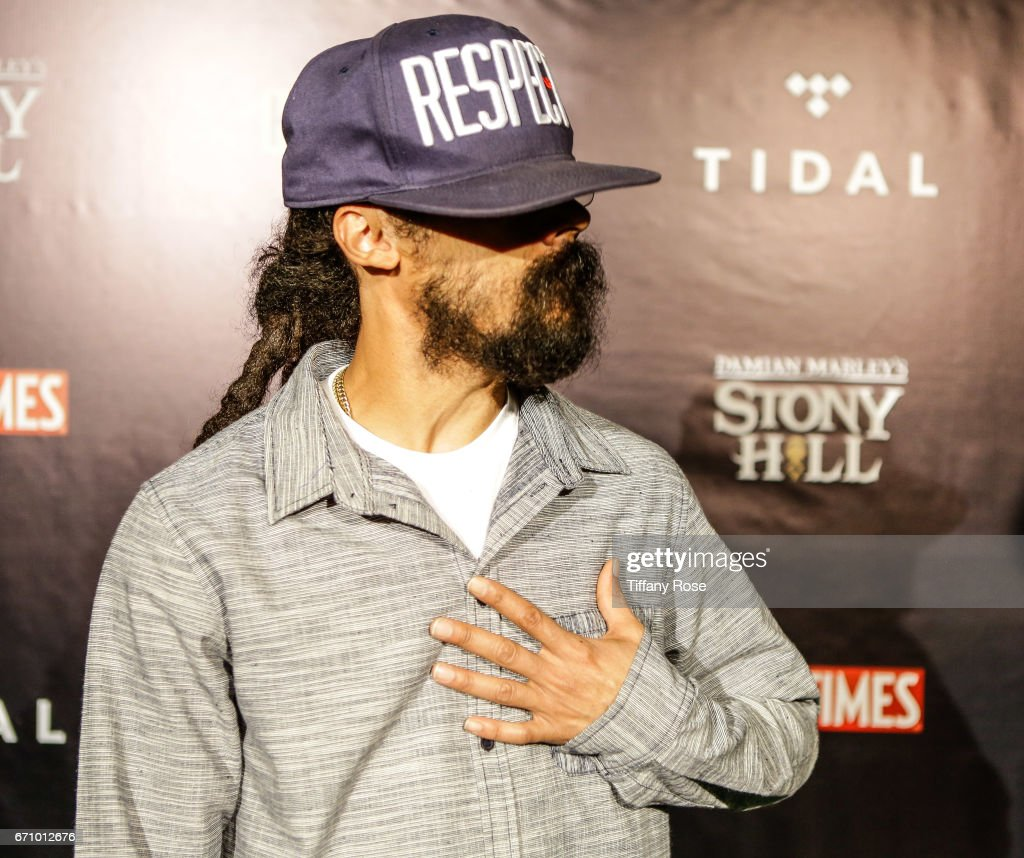Artist Damian Marley attends the Tidal
