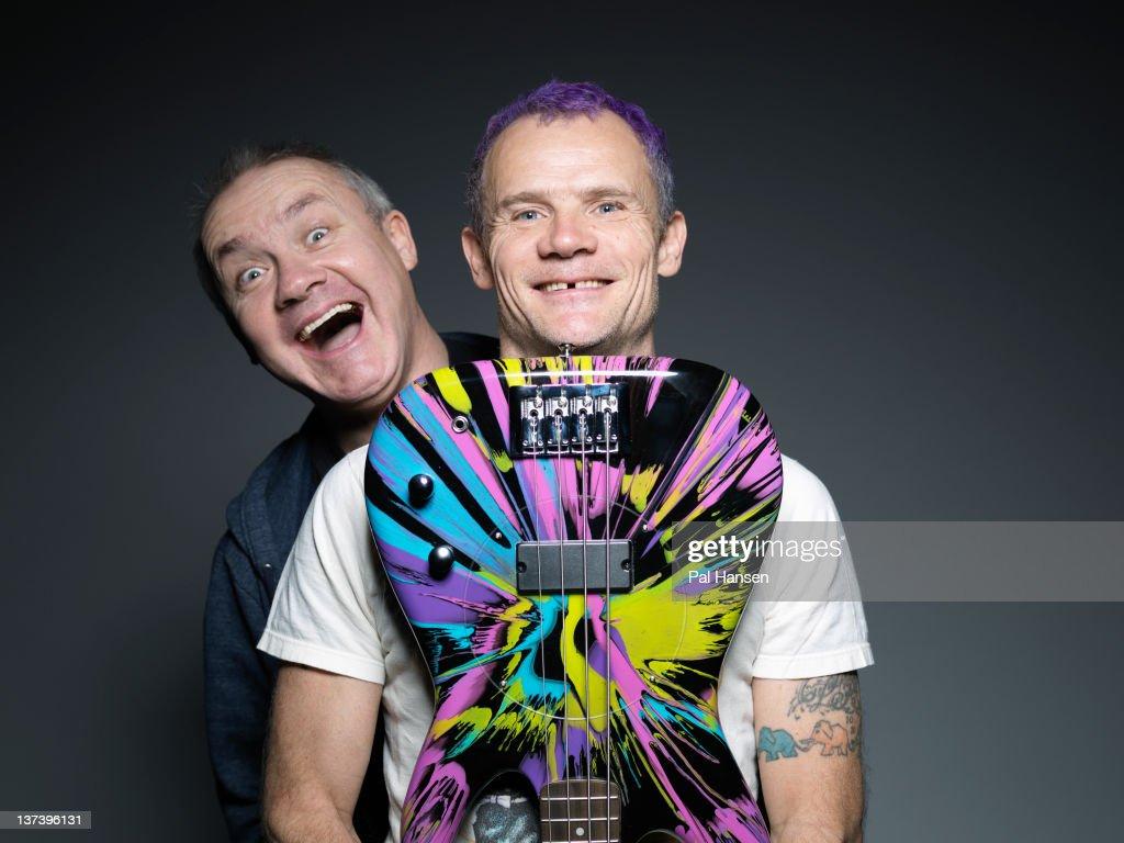 Damien Hirst & Flea, Times UK, November 27, 2011 : News Photo