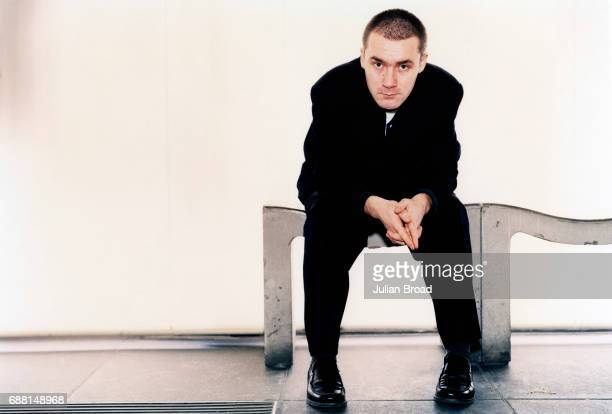 Artist Damien Hirst is photographed in London England