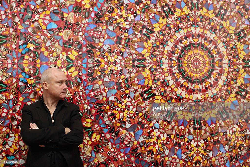 Tate Modern Launch The Damien Hirst Retrospective : News Photo
