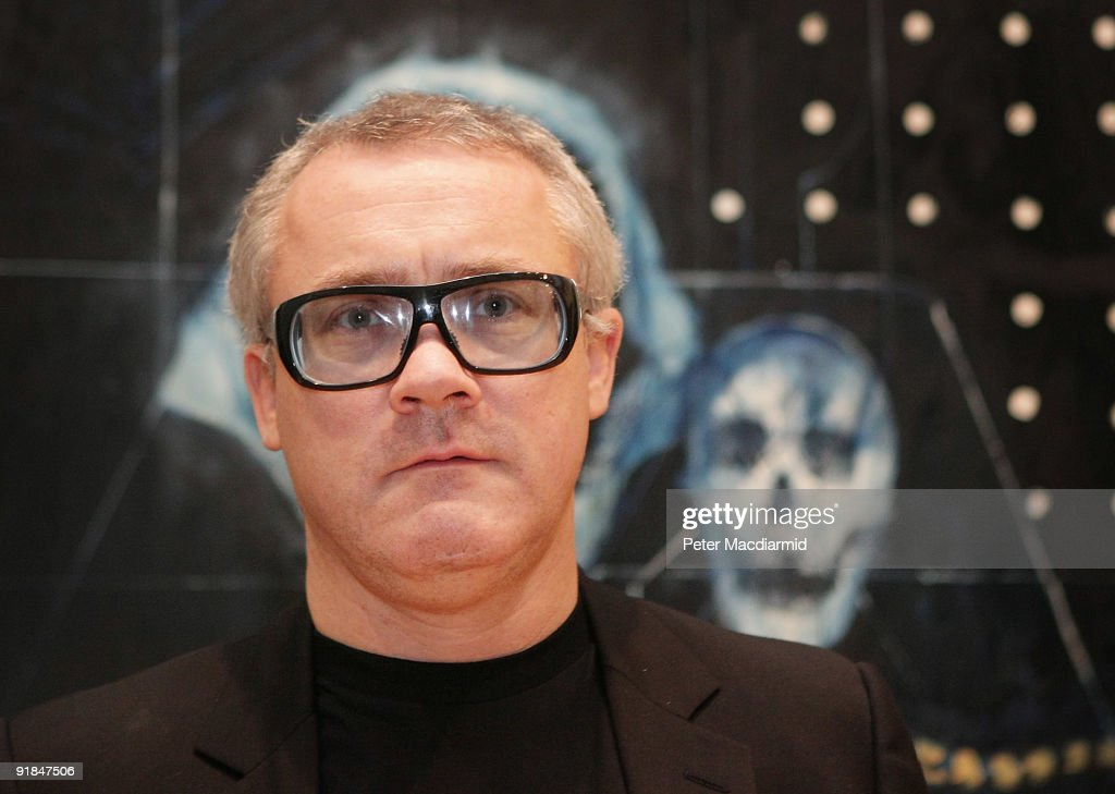 Damien Hirst Unveils 25 New Paintings At The Wallace Collection : News Photo