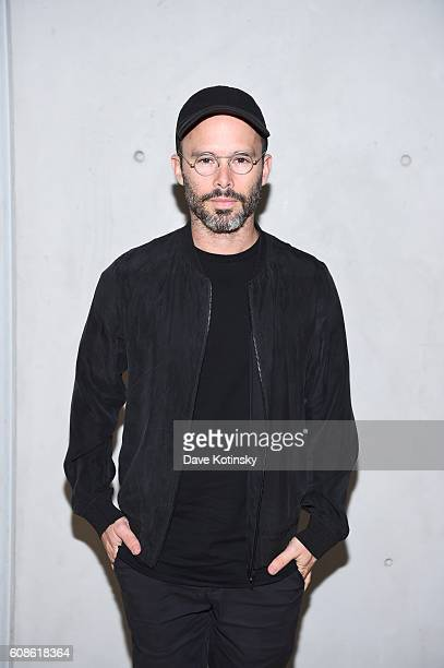 Artist Daniel Arsham attends the Daniel Arsham Colorblind Artist In Full Color at Spring Place on September 19 2016 in New York City