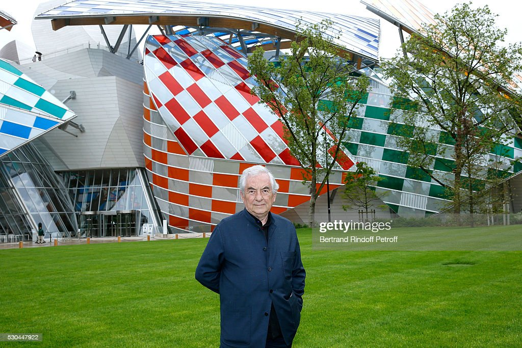 """Observatory of Light, Work in Situ"" : Foundation Louis Vuitton Presents A Temporary Work By Daniel Buren : Press Preview : News Photo"