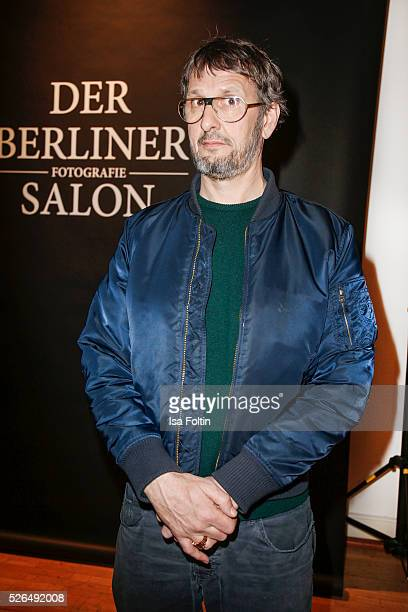 Artist Daniel Richter at 'Der Berliner Fotografie Salon Edition 1' on April 29 2016 in Berlin Germany
