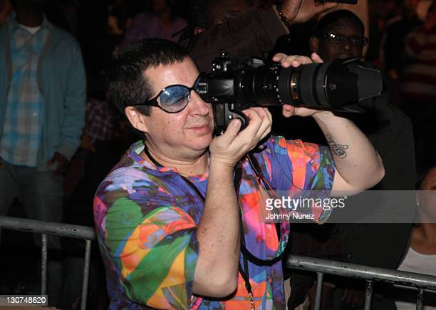 Artist designer and photographer Noah G Pop attends the Birth of the Boom Hip Hop Festival at the Paradise Theater on October 28 2011 in New York City