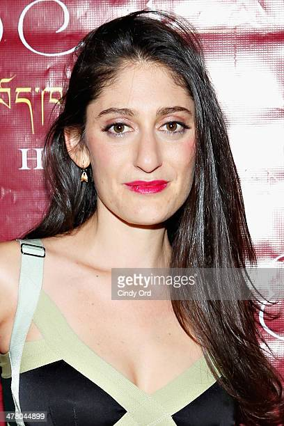 Artist/ designer Arden Wohl attends the 2014 Tibet House Benefit Concert After Party at Gotham Hall on March 11 2014 in New York City