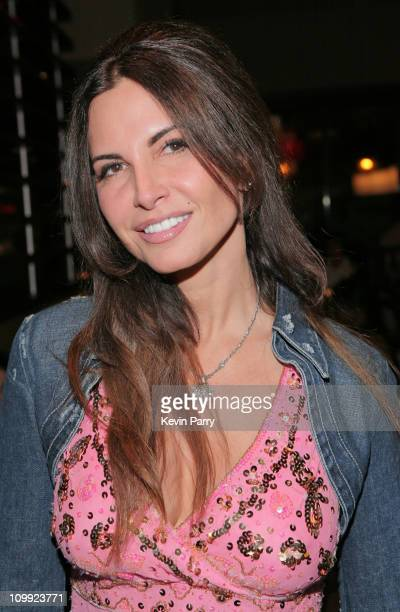 Artist Diana Roque Ellis attends the LA Food Show Grill Bar Grand Opening Preview on October 22 2008 in Beverly Hills California
