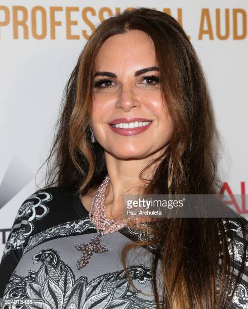 Artist Diana Roque Ellis attends the Gifting Your Spectrum gala benefiting Autism Speaks on February 24 2018 in Hollywood California
