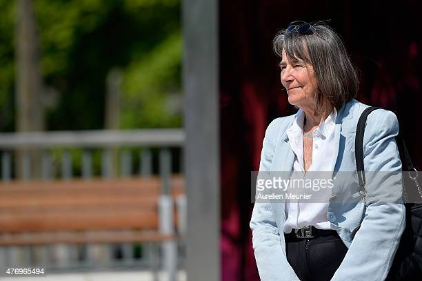 Artist Diane Maclean attends the 'Open Book' Press Preview at Parc Martin Luther King on June 13 2015 in Paris France