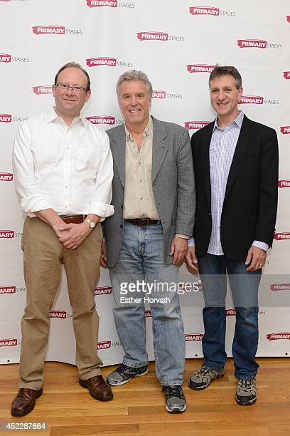 Artist Director Andrew Leynse Managing Director Elliot Fox Founder and Executive Producer Casey Childs attends the Poor Behavior press preview at...