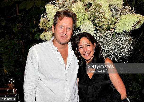 Artist Doug Aitken and owner of Regen Project Shaun Caley Regen attend the Doug Aitken Still Life Opening Reception and Dinner at Chateau Marmont on...