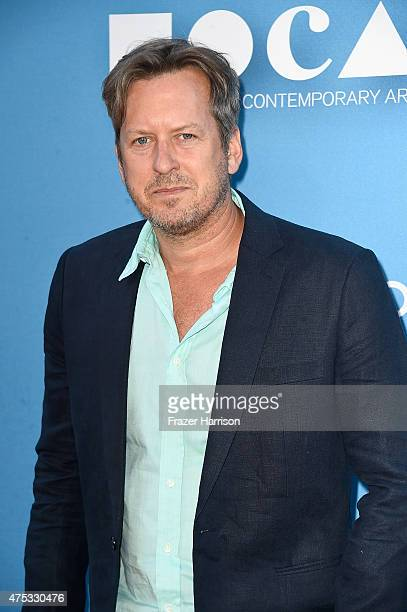 Artist Doug Aitken attends the 2015 MOCA Gala presented by Louis Vuitton at The Geffen Contemporary at MOCA on May 30 2015 in Los Angeles California