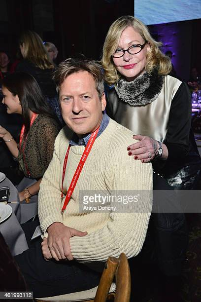 Artist Doug Aitken attends the An Artist At The Table Dinner Program during the 2015 Sundance Film Festival on January 22 2015 in Park City Utah