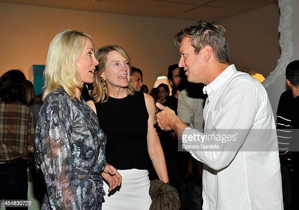 Artist Doug Aitken attends the Doug Aitken Still Life Opening Reception and Dinner at Regen Projects on September 6 2014 in Los Angeles California