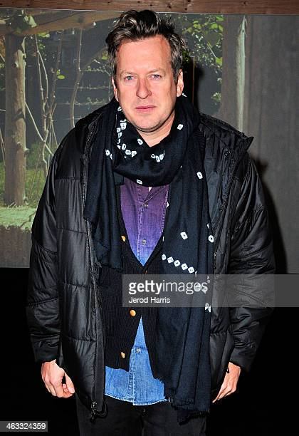 Artist Doug Aitken attends the New Frontier Press Preview at New Frontier during the 2014 Sundance Film Festival on January 17 2014 in Park City Utah