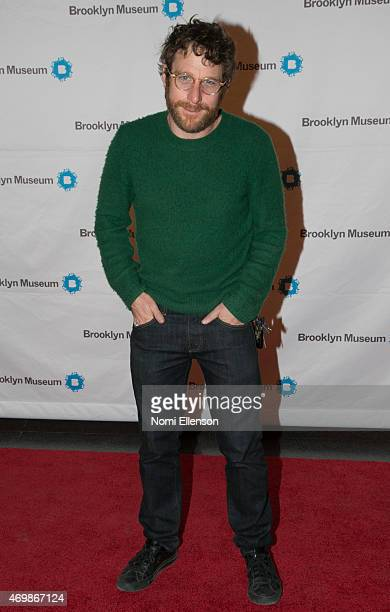 Artist Dustin Yellin attends the Brooklyn Artists Ball at Brooklyn Museum on April 15 2015 in New York City