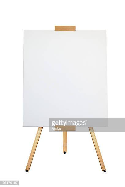 artist easel - easel stock pictures, royalty-free photos & images