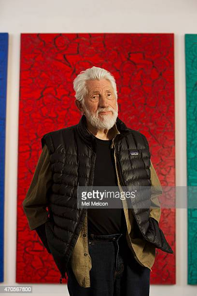 LOS ANGELES CA MARCH 27 2015 Artist Ed Moses is photographed for Los Angeles Times on March 27 2015 in Venice California PUBLISHED IMAGE CREDIT MUST...