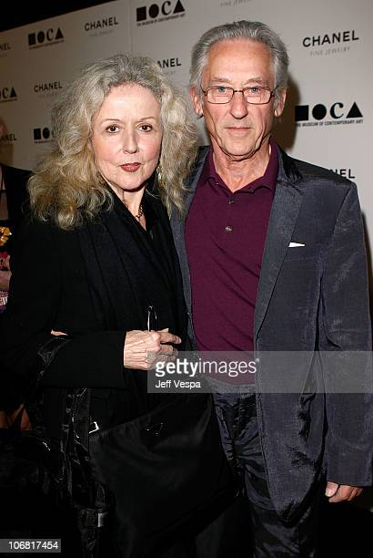 """Artist Ed Ruscha and wife Danna Ruscha arrive at """"The Artist's Museum Happening"""" MOCA Los Angeles Gala sponsored by Chanel Fine Jewelry held at MOCA..."""