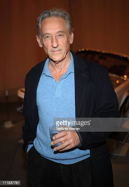 Artist Ed Ruscha attends the BMW Art Car U.S. Tour hosted by Vanity Fair held at LACMA on February 18, 2009 in Los Angeles, California.