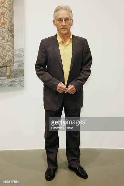Artist Ed Ruscha attends the Ed Ruscha Paintings Opening Reception at Galleria Gagosian on November 20, 2014 in Rome, Italy.