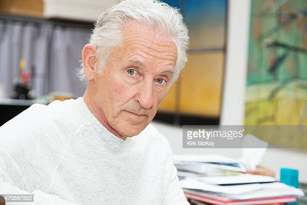 Artist Ed Ruscha is photographed for Los Angeles Times on April 7, 2015 in Los Angeles, California. PUBLISHED IMAGE. CREDIT MUST BE: Kirk McKoy/Los...