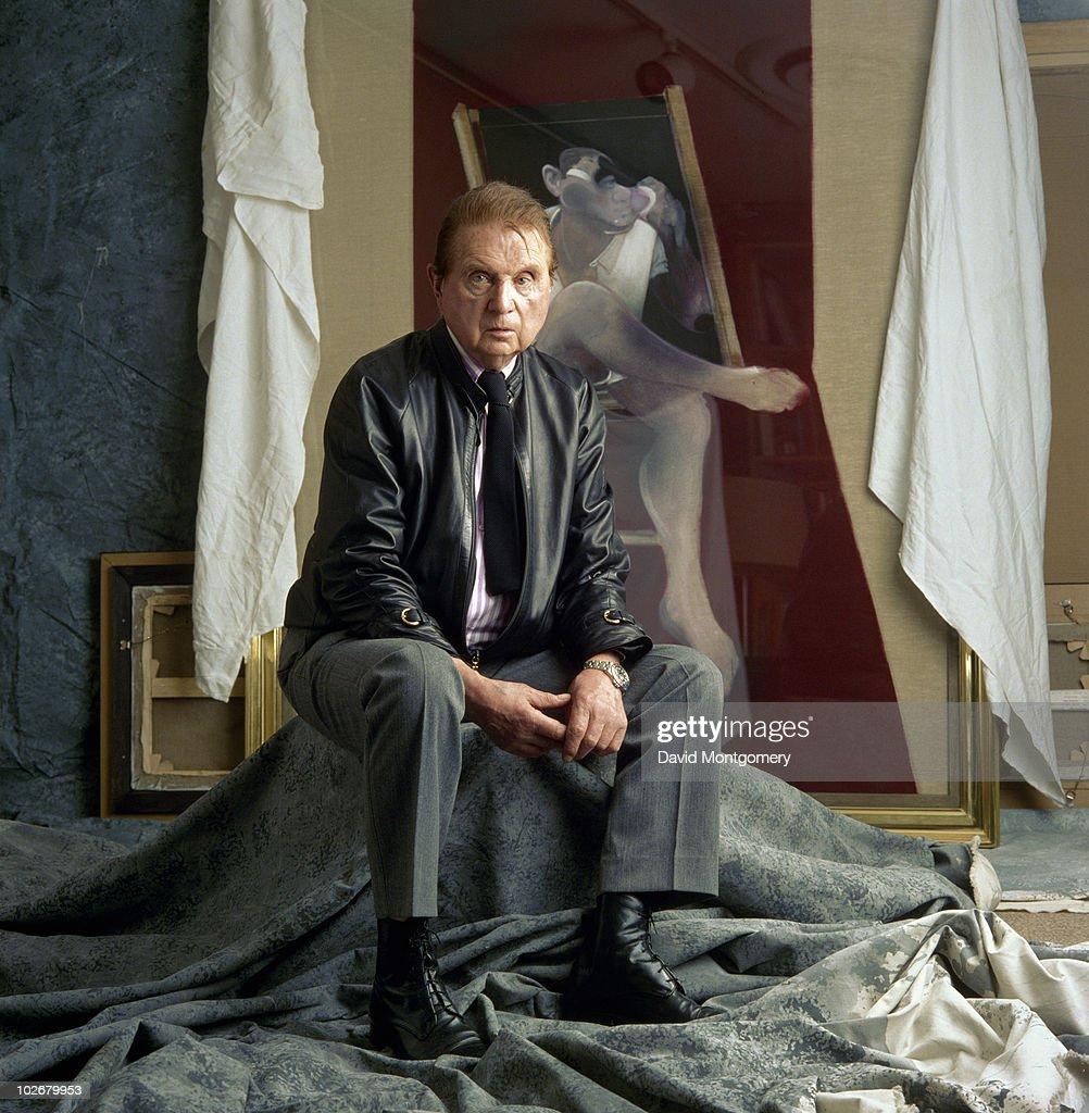 Artist Francis Bacon (1909 - 1992), 1989.