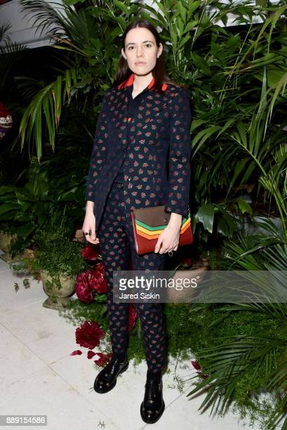 Artist Francis Wilks attends the Gucci X Artsy dinner at Faena Hotel on December 6 2017 in Miami Beach Florida