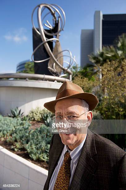 Artist Frank Stella is photographed for Los Angeles Times on June 28 2014 in Los Angeles California PUBLISHED IMAGE CREDIT MUST BE Luis Sinco/Los...