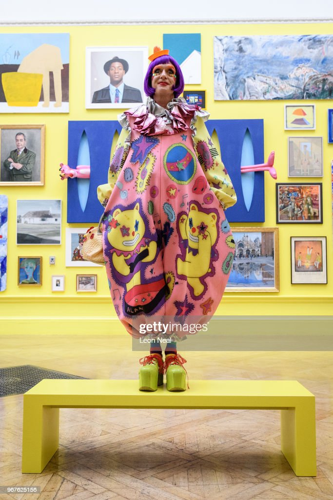 Grayson Perry Previews The Great Spectacle: 250 Years of the Summer Exhibition : News Photo